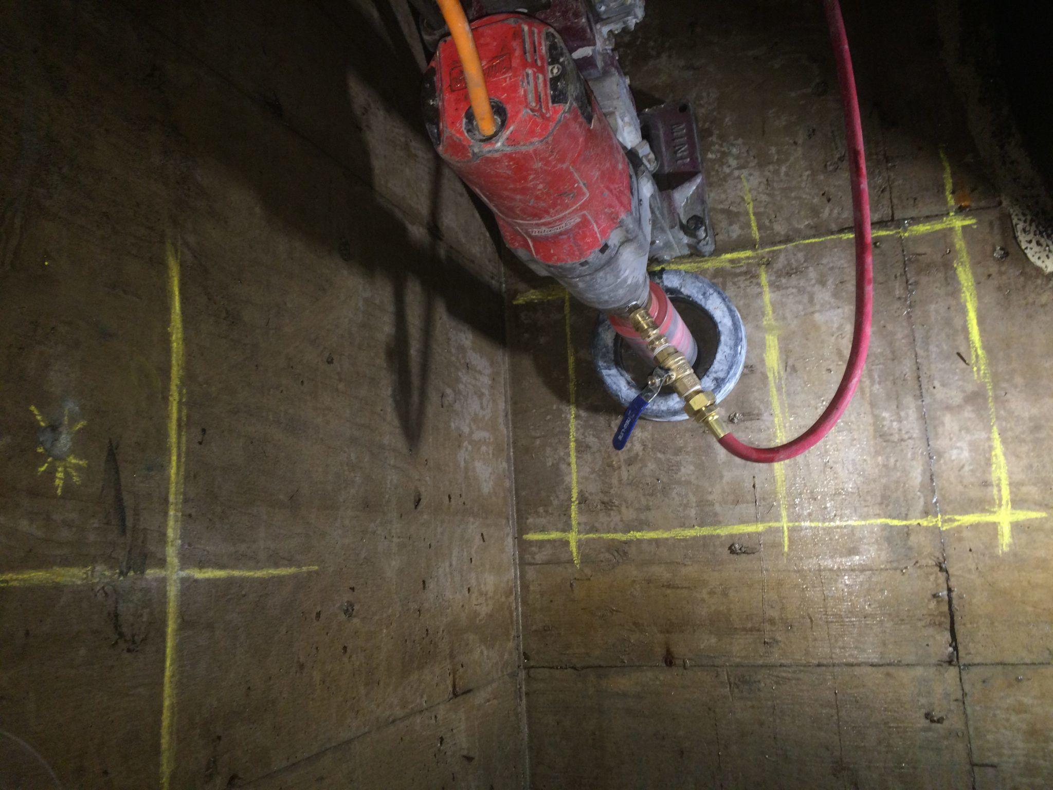 Cutting & Coring - Metro Testing + Engineering