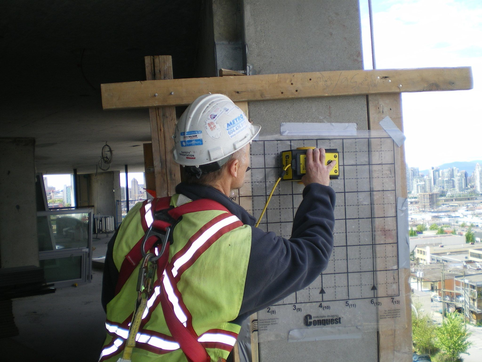 Ground Penetrating Radar (GPR) - Metro Testing + Engineering